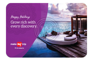 MakeMyTrip Holiday E-Gift (Instant Voucher)