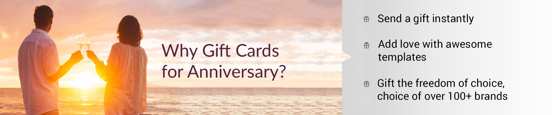 Anniversary gift cards the best gift for anniversary gift cards for anniversary negle Image collections
