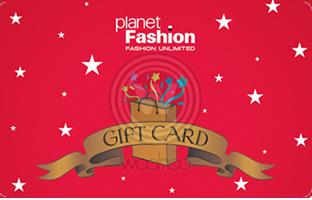 707f0f9f66ff Planet fashion E-Gift Cards