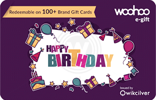 Woohooin Birthday E Gift Card