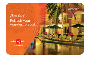 makemytrip hotel gift card