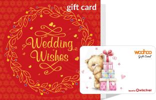 Woohoo Gift Card - In Special Red Wedding Package