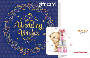 Wedding gift cards gift vouchers 100 brands woohoo gift card in special blue wedding package negle Choice Image