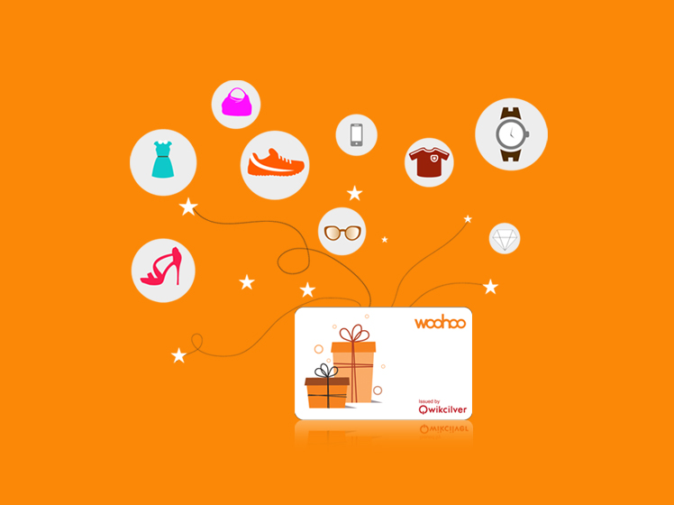 how gift card works